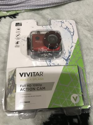 vivitar full hd 1080p action cam for Sale in Riverdale Park, MD