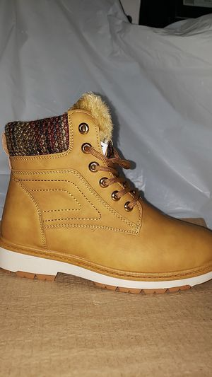 Size 10 Camel colored boots for Sale in Rockland, MA