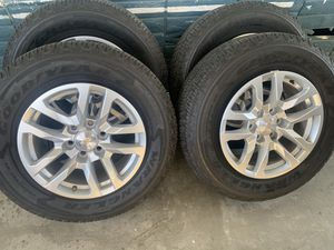 2020 chevy 18in rims for Sale in Castroville, CA