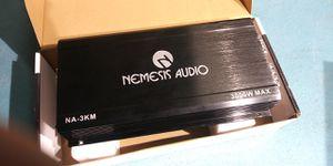 Nemesis NA-3KM Mono Amplifier 3000 watts for Sale in Grand Prairie, TX