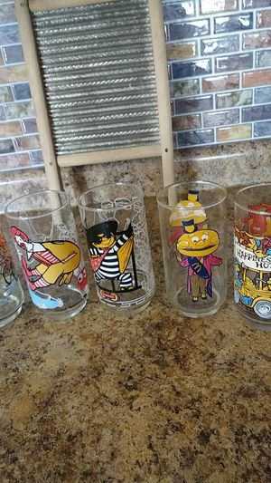 McDonalds collectible glasses for Sale in Philadelphia, PA