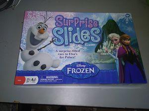 Frozen Surprise Slides Board game for Sale in Powhatan, VA