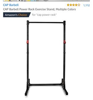 CAP BARBELL power rack for Sale in San Bruno, CA