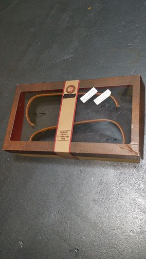 Indian Motorcycle OEM tan leather floorboard trim 2014 - 2020 for Sale in Davie, FL