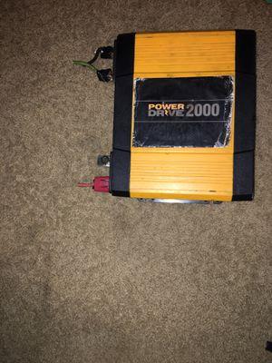 Power converter power Drive 2000 for Sale in Oak Lawn, IL