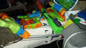 Nerf guns adventure foce water guns for Sale in Whittier, CA