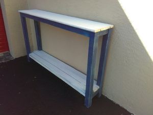 "Narrow TV Console Table. 60"" long for Sale in Lake Worth, FL"