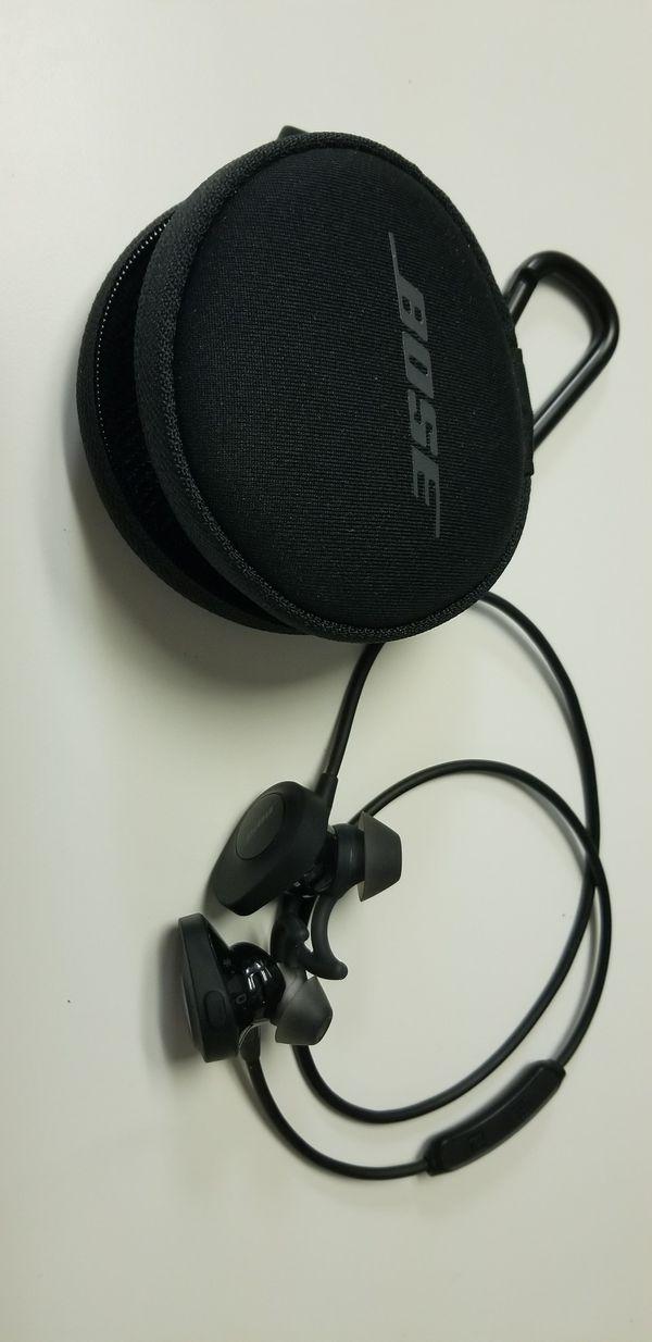 Bose - SoundSport wireless headphones - Black