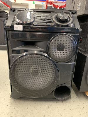 Samsung boom box / stereo system for Sale in Baytown, TX