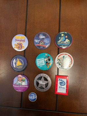Disney - Button/Pins - Bag #16 for Sale in Davenport, FL