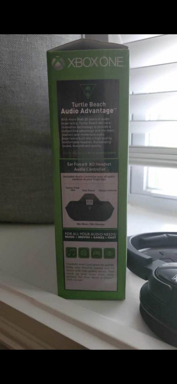 Xbox one turtle beach headset