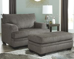 Ashley Furniture Chair with Ottoman for Sale in Santa Ana, CA