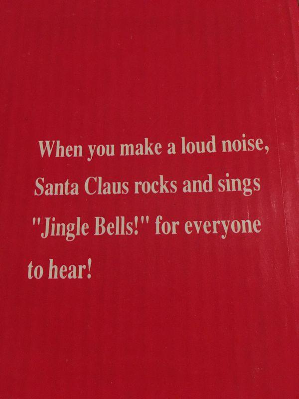 Rocking Santa Claus