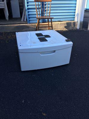 Under washer-dryer pedestal drawer! for Sale in Portsmouth, VA