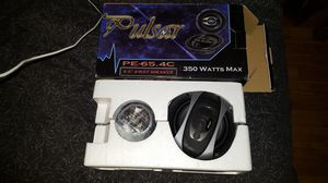 "Pulsar Electronics PE65.4 6.5"" Car Speakers Coaxial 4 Way for Sale in Chelan, WA"