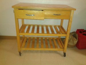 Moveable kitchen island for Sale in Waipahu, HI