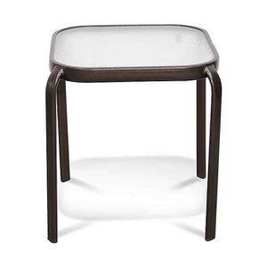 white patio side end table outdoor for Sale in Glendale, AZ