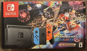 Mario Kart 8 Nintendo Switch BRAND NEW IN BOX for Sale in Compton, CA