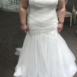 Plus size wedding dress for Sale in Orlando, FL