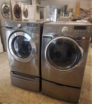 Stainless Steel Front Load Washer & Electric Dryer Set! Can Deliver! Have Others! Military/Vet Discount! No Credit Needed $50 Down Program! for Sale in Norfolk, VA