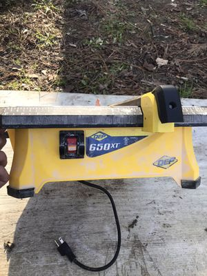 Qep 650 xt tile saw for Sale in Moyock, NC