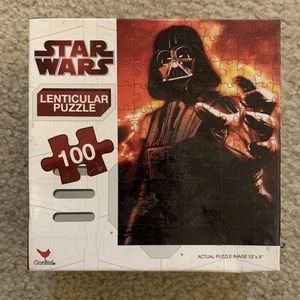 Star Wars Puzzle 100 Pieces for Sale in West Hartford, CT