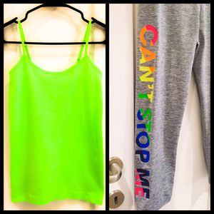 New! Workout Outfit, Stretchy Material Size XS/S for Sale in Las Vegas, NV