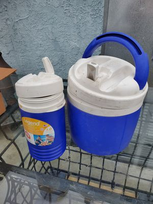 Igloo Water Containers 2 $15 for Sale in Long Beach, CA