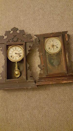 Antique Waterbury Wall Clock for Sale in Tucson, AZ