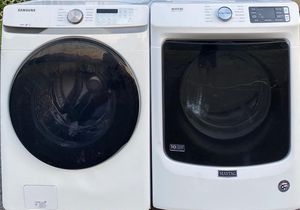 SAMSUNG WASHER AND MAYTAG DRYER FRON LOAD for Sale in Gallatin, TN