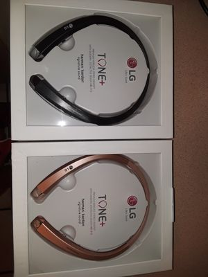 Brand new Bluetooth Retractable Wireless Earphones Headset headphones LG hbs910 for Sale in Coral Gables, FL