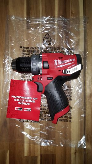Milwaukee M12 FUEL Hammer Drill (NEW) for Sale in San Diego, CA