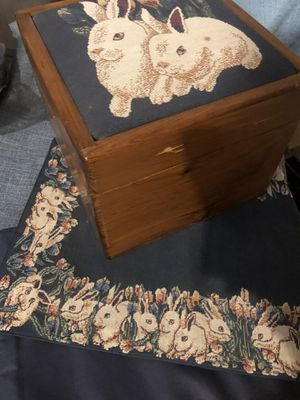Rabbit chest and runner for Sale in Clovis, CA