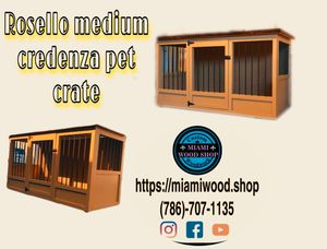 Pet crate / crate / kennel / custom made / indoor cage for Sale in Hialeah, FL