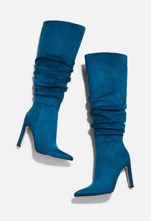Heeled Boots, Reza , Sapphire Blue for Sale in Baltimore, MD