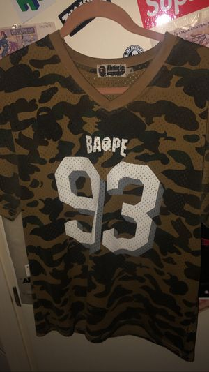 Bape 93 Jersey for Sale in Durham, NC