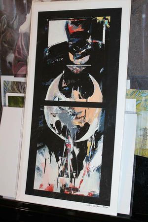 Batman abstraction giclee for Sale in Pflugerville, TX