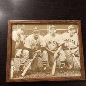 Framed Red Sox Picture for Sale in Portsmouth, VA