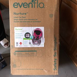 Evenflo brand new car seat for newborn to 22lbs for Sale in Warren, MI