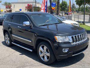 2012 Jeep Grand Cherokee Overland, 5.7L V8 16 Valve 360HP, Miles 122k, NAVIGATON, BACK UP CAMERA ⚠️ FINANCE AVAILABLE ⚠️ ACEPTAMOS ITIN Y MATRICULA for Sale in Pico Rivera, CA