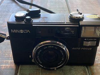 Minolta HiMatic AF2 Autofocus Film Camera for Sale in Los Gatos,  CA