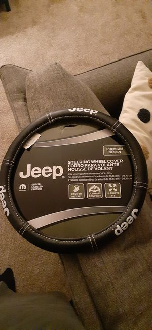 Jeep Steering wheel cover for Sale in Delair, NJ