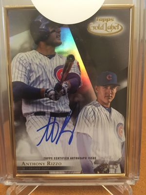 2018 ANTHONY RIZZO AUTOGRAPH / BEST OFFER for Sale in Alexandria, VA