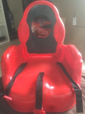 Lighting McQueen booster seat for Sale in San Diego, CA