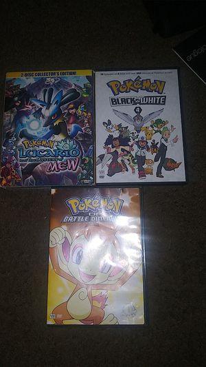 Pokemon DVD's for Sale in San Antonio, TX