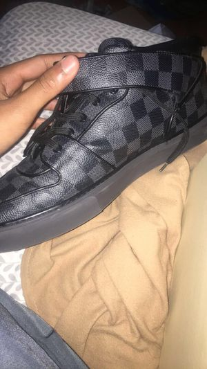 Louis Vuitton black Damier sneakers for Sale in Philadelphia, PA