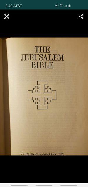 The jerusalem bible (hardback) for Sale in Grand Terrace, CA