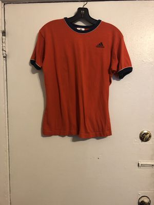 Adidas Bright Orange Women's T-shirt for Sale in Los Angeles, CA