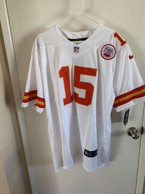Patrick mahomes #15 white Kansas chiefs jersey for Sale in San Fernando, CA