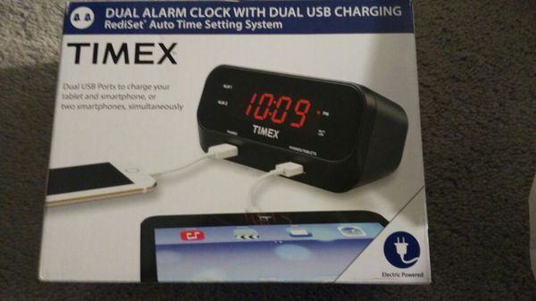 Brand New Dual Alarm Clock